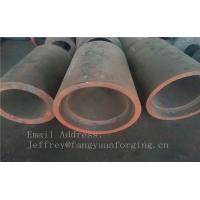 C15  Forged Sleeves  Forged Tube / Block with hole Forged Ring Normalized And Proof Machined
