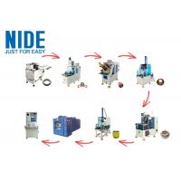 Quality Noiseless Fully Automatic Motor Production Line 0~300mm Stator Dia High Performance for sale