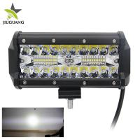 Quality High Power Off Road Led Light Bar 60 Degree Flood Beam Customized Logo for sale