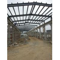 Quality Industrial Structural Steel Plant , Professional Fabrication Steel Structure for sale
