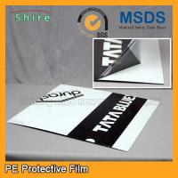 China Custom Thickness LDPE Protective Films For Corrugated Aluminum Sheet on sale