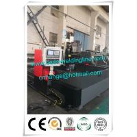 Quality Automatic Cnc Steel Plate Drilling Machine , H Beam Production Line Welding Beam for sale
