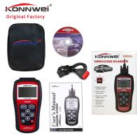 Quality CE OBDii Scanner Obd Trackers Diesel Obd2 Scanner Obd Gauge KONNWEI KW808 for sale