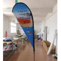 Buy cheap 10 FT Outdoor Advertising Teardrop Flag Banners from wholesalers