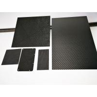 Quality Custom High Strength Carbon Fiber Thick Panel Sheet Matt Glossy Surface Finish for sale
