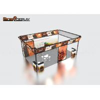 China Lightweight Exhibition Truss Display Booth , Aluminum Outdoor Trade Show Booth on sale