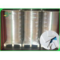 Buy cheap Width 200mm durable and high water absorbability white Coaster paper in roll from wholesalers