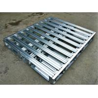 Quality Heavy Duty Stacking Galvanized Steel Pallets For Warehouse Storage for sale