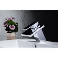 Best 2014 new style bathroom taps stainless steel single handle bathroom basin faucet wholesale