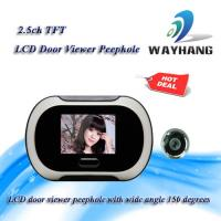 Quality 2.5ch TFT LCD door viewer peephole with wide angle 150 degrees for sale