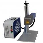 China CNC 3D Curve Surface Dynamic Focusing Fiber Laser Engraver for sale