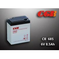 China 6V 8.5AH Gray AGM Sealed Lead Acid Battery CB685 For UPS / Medical Equipment on sale