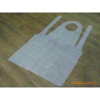 China transparent PE Apron/PE Aprons for kitchen/washing/cooking on sale
