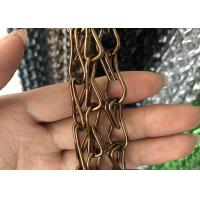 Buy cheap Professional Aluminum Alloy Chain Link Door Curtain 1.6mm / 2.0mm Wire Diameter from wholesalers