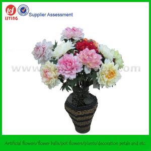 "China 28"" Long Flower Arrangement of Peony on sale"