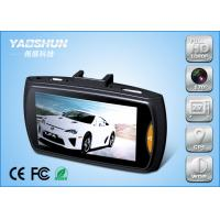 China LCD Screen WDR/HDR Wide Angle Car Camera / Auto Video Camera Recorder on sale