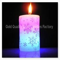 Cheap Christmas pillar candle for sale