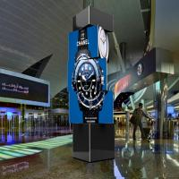 China 360 degree spinning LED Rotate Billboard Outdoor of New Advertising Product on sale