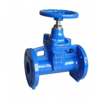 Quality Hand Wheel A536 DN50 PN16 Resilient Seal Gate Valve for sale