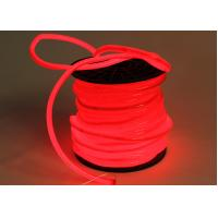 Quality PVC Jacket Led Neon Flex Rope Light , Super Bright Neon Flexible Lights for sale