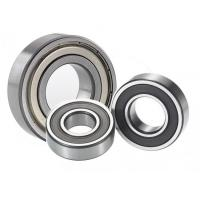 Buy cheap Chrome Steel Auto Parts Bearings , P0 Grade Oil Deep Groove Ball Bearing 6300 from wholesalers