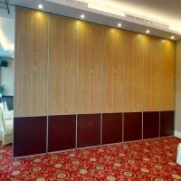 China Multi - Function Room Sound Proof Movable Walls Folding Partitions With Aluminum Tracks on sale