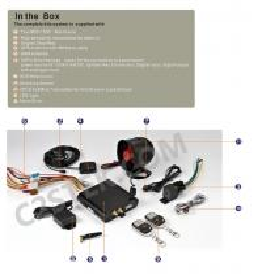 China GSM/GPRS/GPS Car Alarm System GPS-1200 on sale