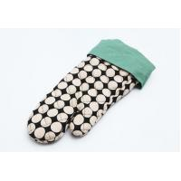 Quality Customized Heat Resistant Oven Mitts  Ant Slip Heat Resistance Surface for sale