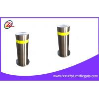 Quality Security hydraulic retractable bollards , Traffic automatic rising bollards for sale