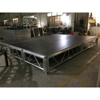 Quality Alloy Assembly Portable Stage Platforms For Sound System And Dj Equipments for sale