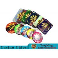 Buy Texas Poker Plastic 760 Pcs Chip Set France Acrylic Casino Dedicated Chips at wholesale prices