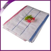 Quality 16s white high quality dobby100% cotton face towels for sale