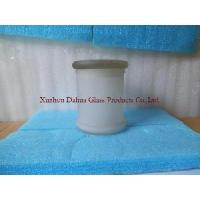 Buy Frost Glass Candle Holder at wholesale prices