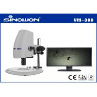 Best Optical Zoom Range Of 0.7X - 4.5X Video Microscope System Built in LED Illumination wholesale