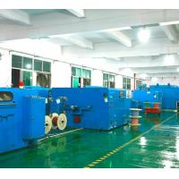 China 0.6-3.0mm Dia Copper Wire Twisting Machine Centre / Side Wrapping Type on sale