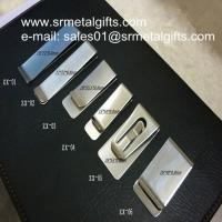China Stainless steel money wallet clips, polish steel money clips wholesaler on sale