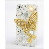 Quality Fashion White Cover for iPhone with Butterfly (CCE-021) for sale