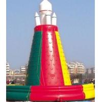 Best PVC Tarpaulin Mobile Giant inflatable climb wall rock climb  in inflatable wholesale