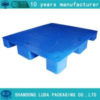 China Luda single side packing transport plastic pallet on sale