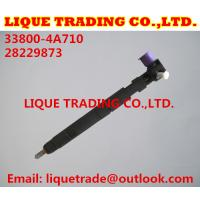 Quality DELPHI Genuine and New Common rail injector 28229873 for HYUNDA KIA 33800-4A710 for sale