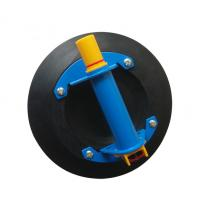China 8 inch pump type flat surface glass sucker , glass hand tools , glass suction cups on sale