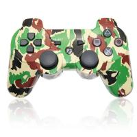 Quality Camo Vibration Ps3 Wireless Bluetooth Controller , Ps3 Controller Gamepad  for sale