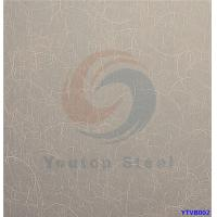 Buy cheap 201 0.4-3.0mm Thickness Vibration Stainless Steel Sheet (YTVB002) from wholesalers