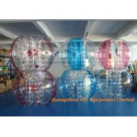 Quality Customized Double Inflatable Human Bubble Ball For Leisure Centre , Park for sale