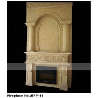 China Home Stone Decoration Fireplace Mantel on sale
