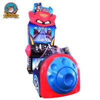Quality 3D Car Racing Game Machine With High Brightness LCD Display Screen for sale