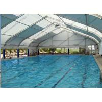 Quality Swimming Outdoor Sports Tent Polygonal Tear Resistant Customized Design Available for sale