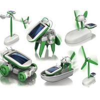 Buy cheap Robot Building Kits Solar Powered Robot  6 In 1 For Children Education from wholesalers