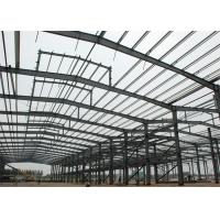 Quality Lightweight Steel Frame Construction , Free Designs Prefabricated Metal Buildings for sale