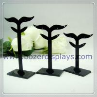 Best Acrylic Earring Display Stand Jewelry Display Stands With OEM Pattern wholesale
